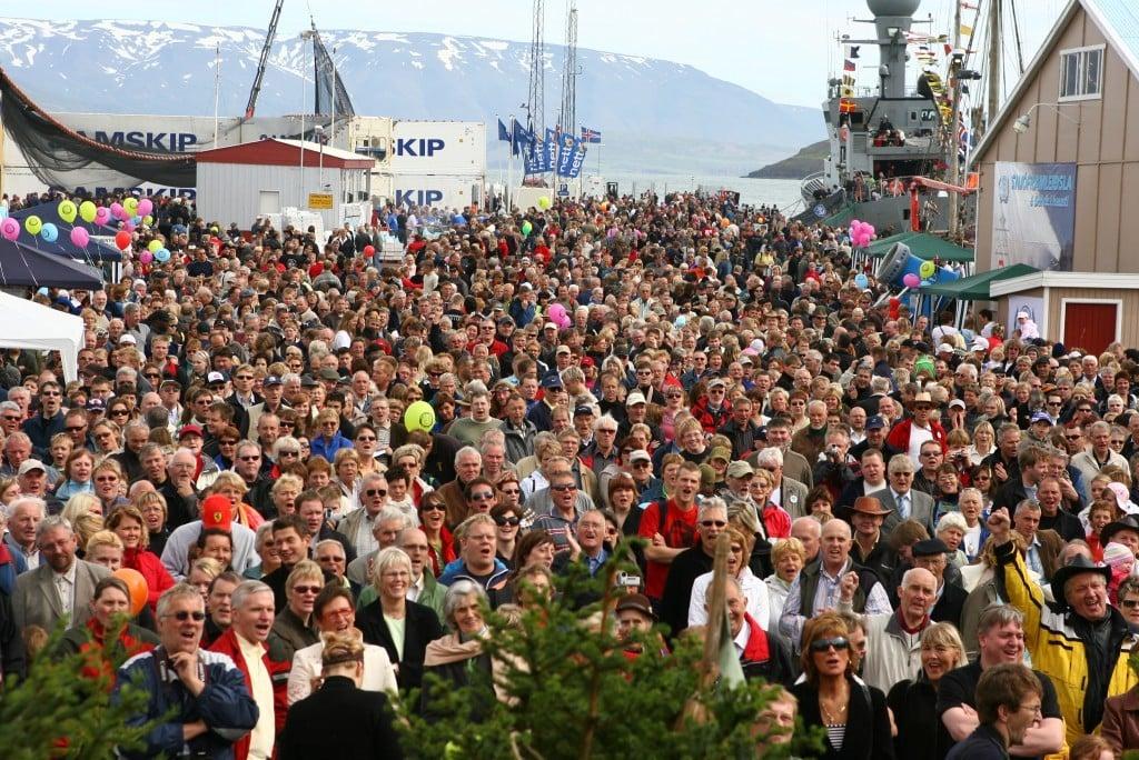 знакомые исландии и известные люди