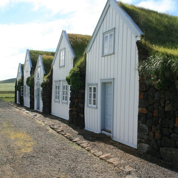 Old Turf House in North iceland