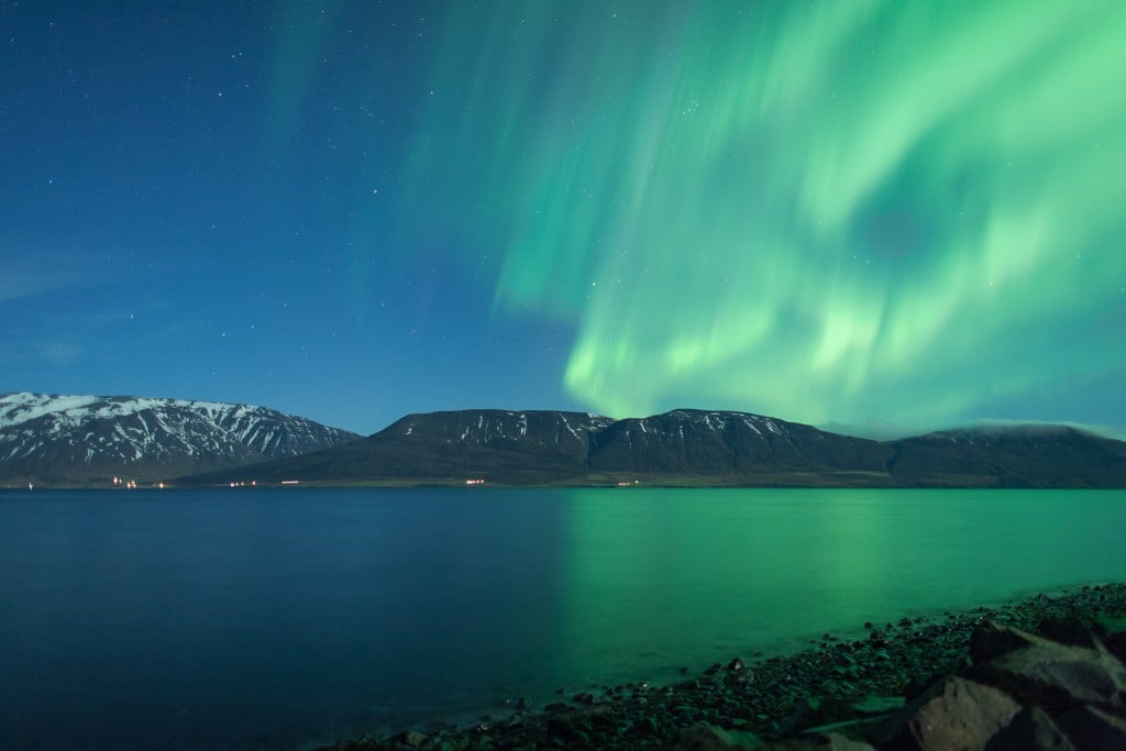 how to see northern lights in september iceland