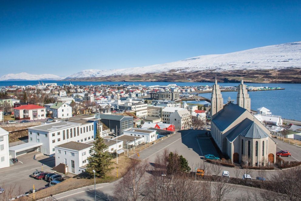 Akureyri the Capital of North Iceland number 1 in Lonely Planet's best destinations 2015