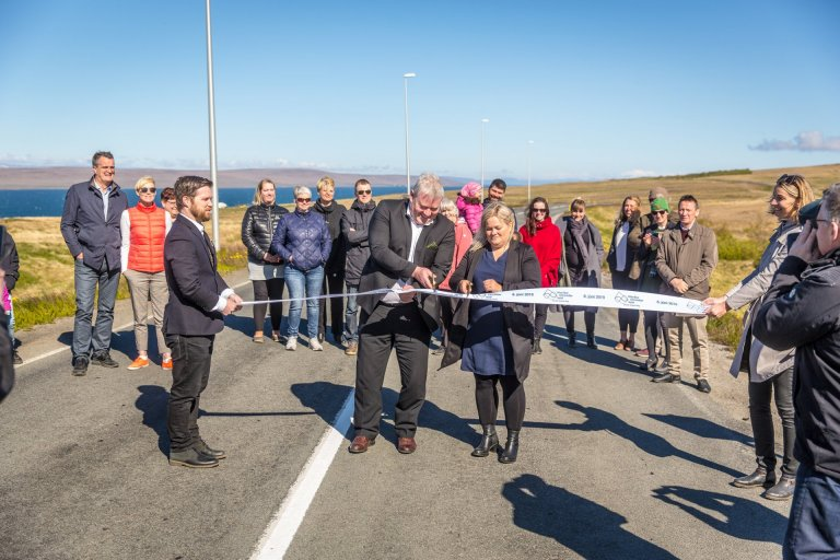 The Arctic Coast Way is officially open