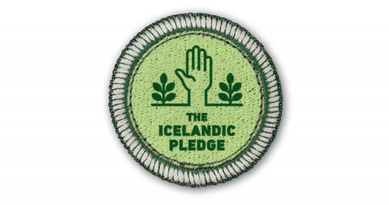 ●	Inspired by Iceland invites visitors to take 'The Icelandic Pledge', a unique 'oath' for tourists, agreeing to respect Iceland's nature and to travel responsibly this summer .